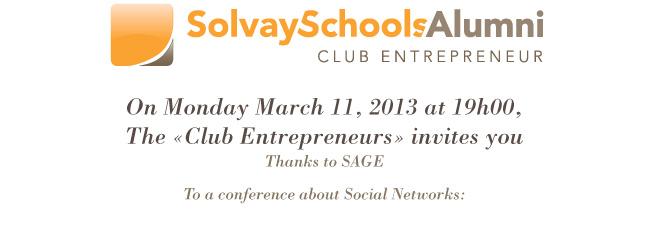 Solvay Schools Alumni Club Entrepreneurs